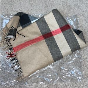 Brand New Authentic Burberry Triangle Scarf